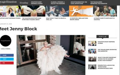 Voyage Houston: Meet Jenny Block