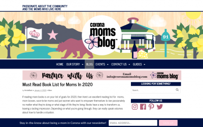 Moms Blog: Must Read Book List for Moms In 2020