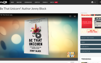 """Be That Unicorn"" Author Jenny Block"