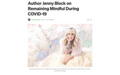 Author Jenny Block on Remaining Mindful During COVID-19