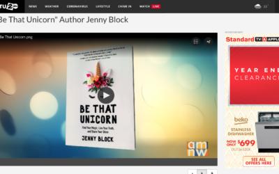 """""""Be That Unicorn"""" Author Jenny Block"""